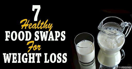 7 Healthy Food Swaps For Weight Loss